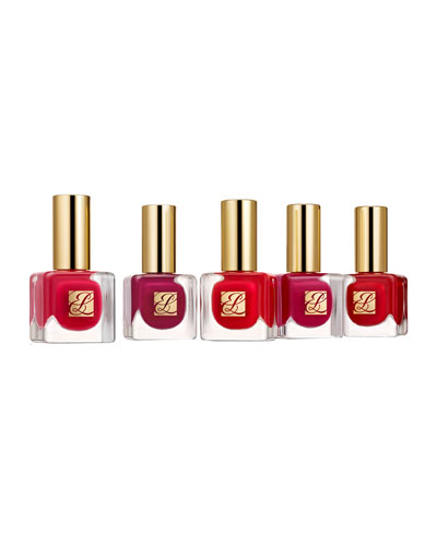 Pure Color Nail Lacquer, Red Haute Collection