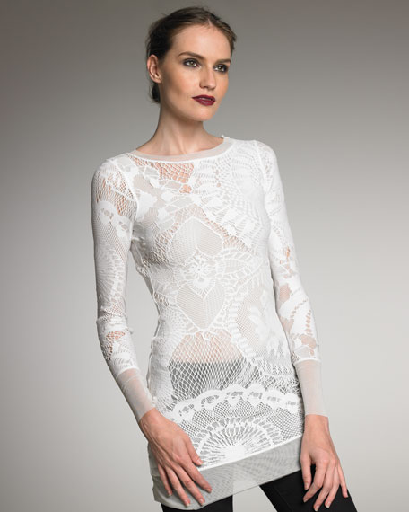 Exclusive Lace Tunic