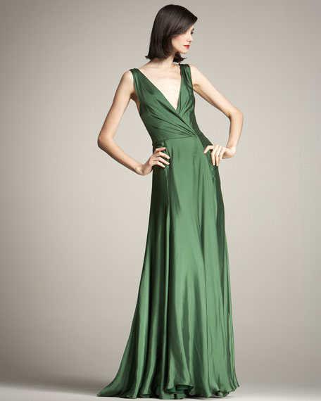 Adele Fluid Silk Gown