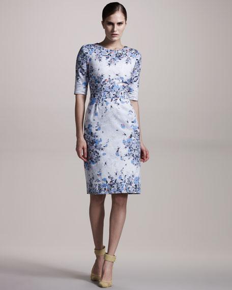 Ivy Floral-Print Cotton Dress