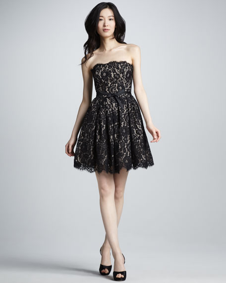 NM + Target Fit-and-Flare Lace Dress