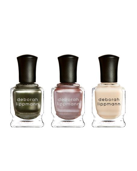 Fashionista Nail Lacquer Gift Set Trio
