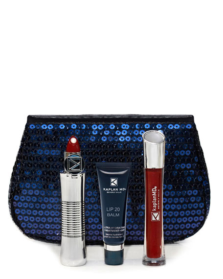 KAPLAN MD LIP 20 Gift Set, Velvet Wine
