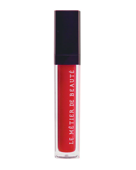 Sheer Brilliance Lip Gloss in Coral Confection