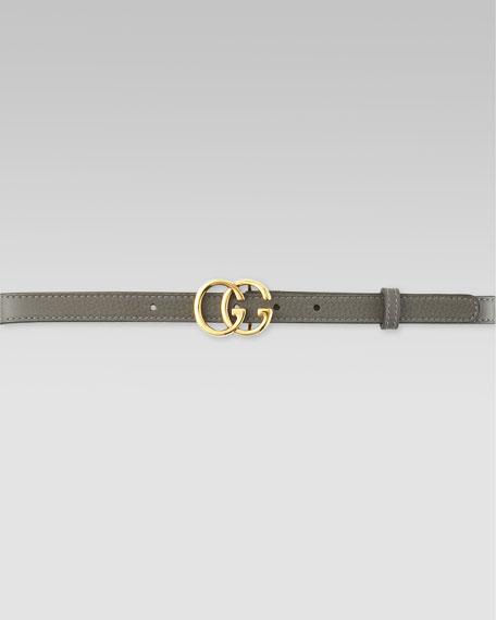 Double G Buckle Belt