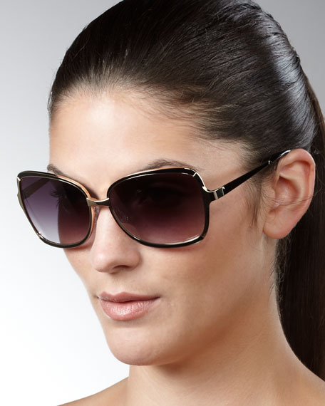 Serene Sunglasses, Dark Golden