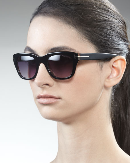 Snowdon Sunglasses, Black/Havana