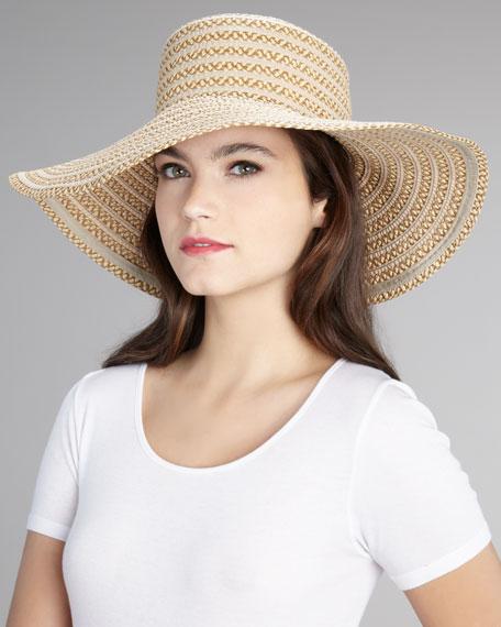 GG Dame Wide-Brim Hat