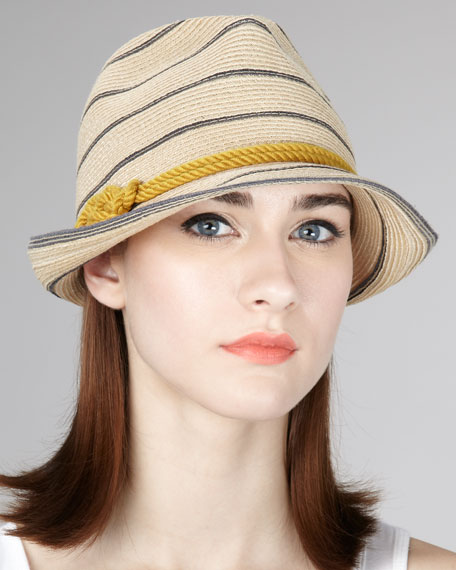 Max Striped Fedora