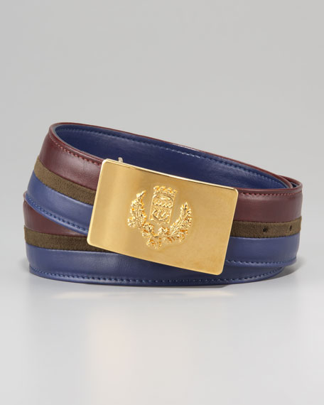 Military-Buckle Belt