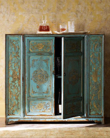 Handpainted Cabinet