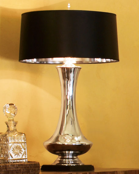 Mercury Glass Lamp