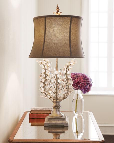 Quot Upside Down Quot Glass Leaf Lamp Neiman Marcus