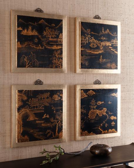 """Four """"Shanghai"""" Panels"""