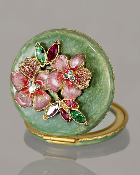 Floral Cluster Compact