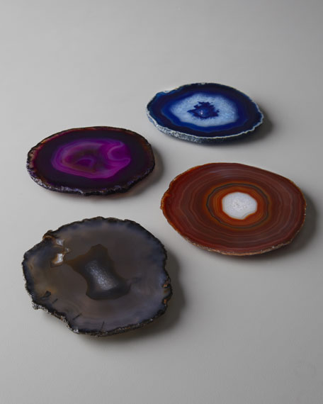 "Four Assorted ""Pedra"" Coasters"