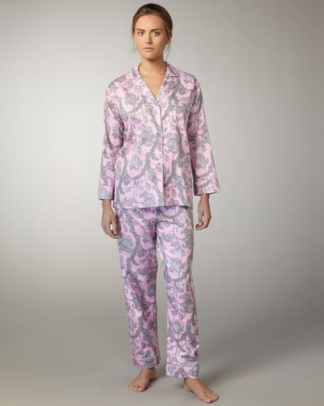 Vienna Classic Pajamas, Pink