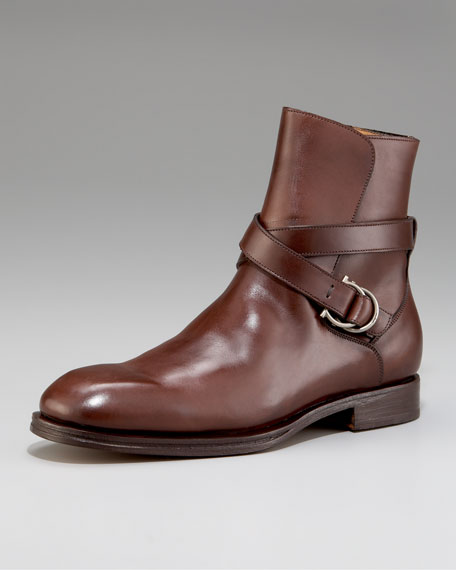 Salvatore Ferragamo CHESTER STRAP BOOT