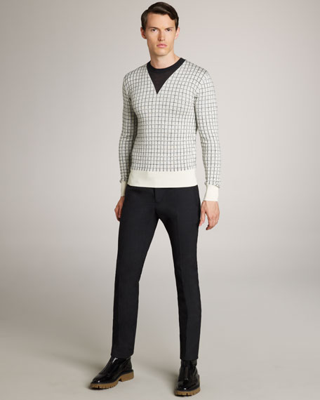 Burberry Prorsum Skinny-Fit Wool Trousers