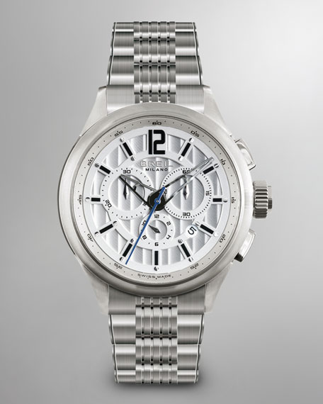 939 Stainless Steel Chronograph Watch