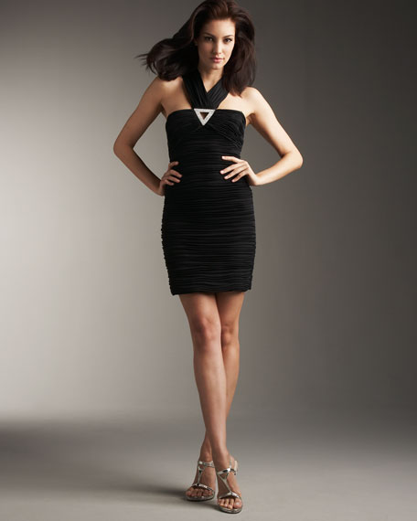 Fallon Ruched Dress