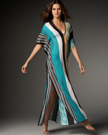 Canton Long Striped Caftan