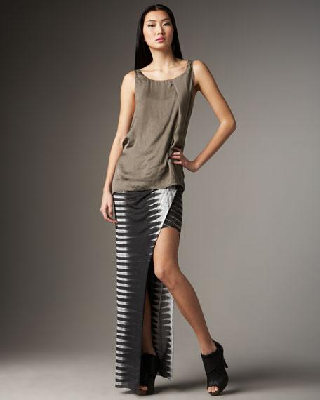 Frequency-Print Asymmetric Skirt