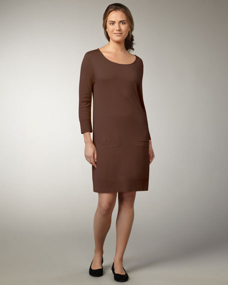 Knit Cotton Dress