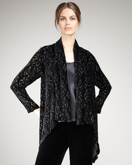 Velvet Burnout Jacket