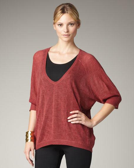 Wool Oval Sweater