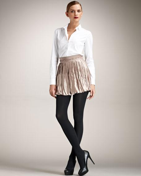 Satin Bubble Skirt