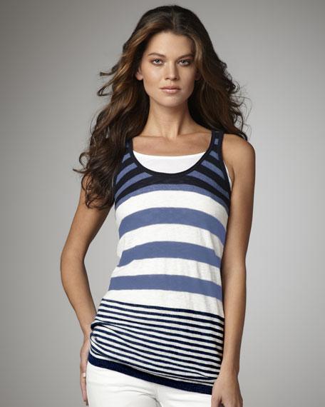 Striped Sweater-Tank