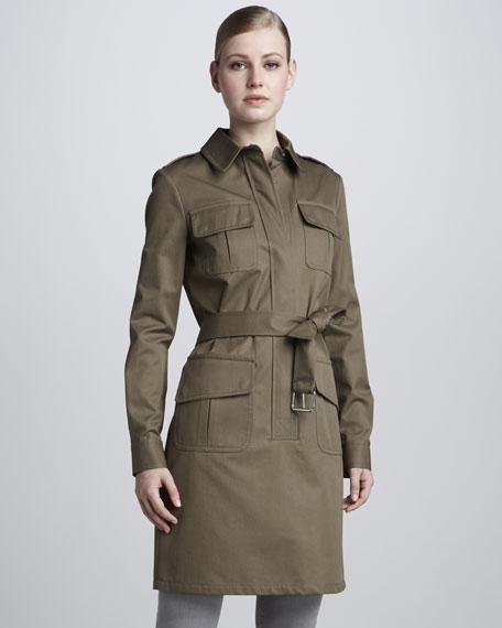 Cotton Gabardine Jacket