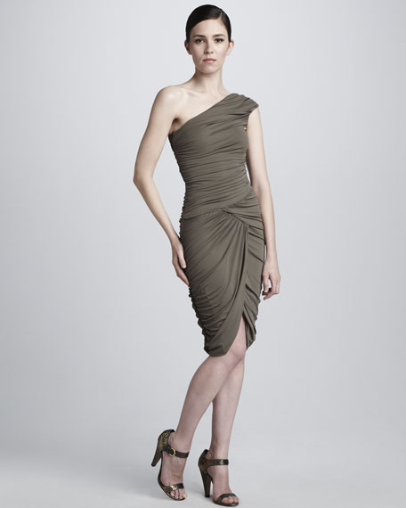 Tissue Stretch Jersey Dress