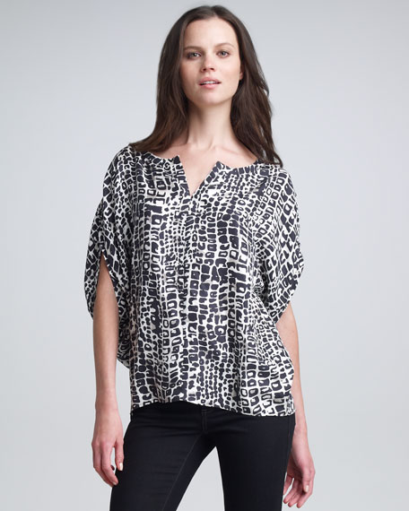 Selma Printed Top