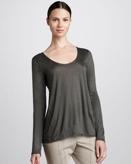 Long-Sleeve Layering Shirt