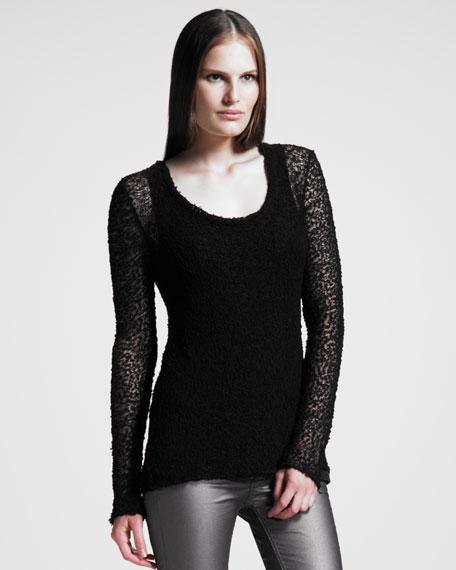 Juliet Burnout Sweater