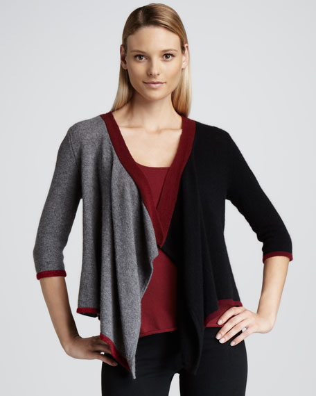 Cascade Colorblock Cardigan