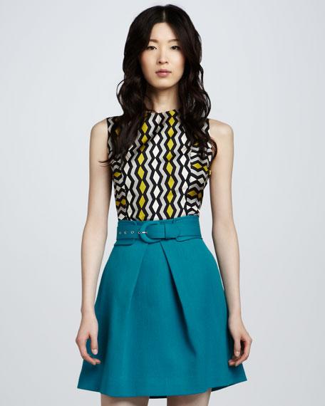 Aude A-Line Skirt