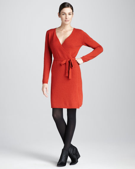 Cashmere Wrap Dress