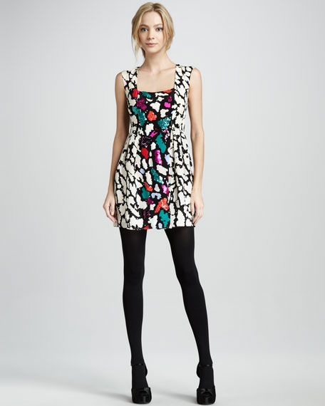 Double Happiness Printed Dress