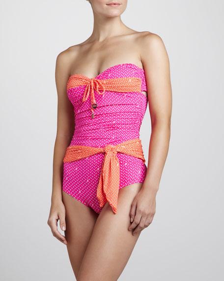 Bandeau Maillot Swimsuit