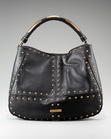 Burberry Runway Studded Hobo