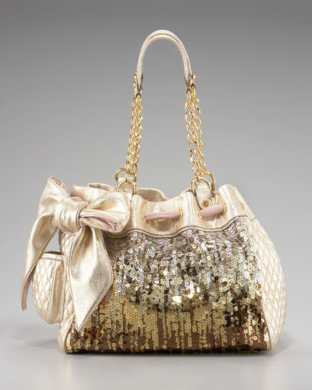 Luxe Sequined Day Dreamer Tote