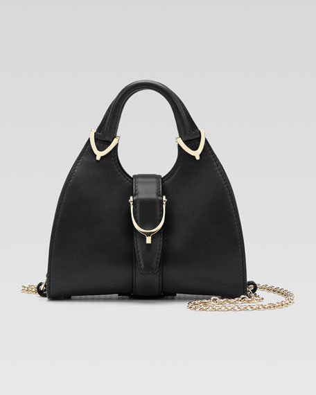 Stirrup Small Top-Handle Bag