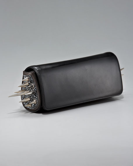 Spiked Marquise Clutch