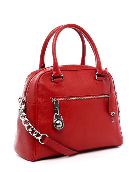 Joan Large Satchel, Red