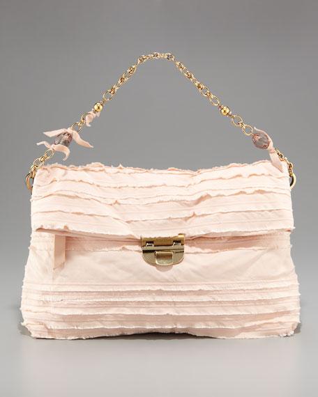 Liane Jewel-Strap Evening Bag, Large