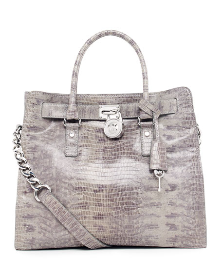 Hamilton Large Embossed Tote Bag
