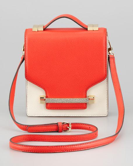 Sonata Julia Crossbody Bag, Fiery Coral